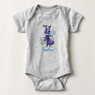 Cute Insect Baby Bodysuit