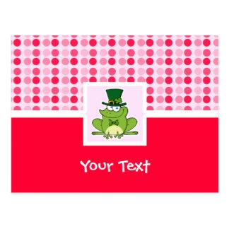 Cute Irish Frog Post Cards