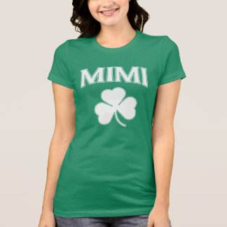 Cute Irish Mimi Shamrock T-shirts