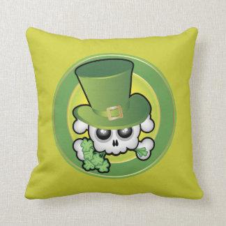 Cute Irish Skull Cushion