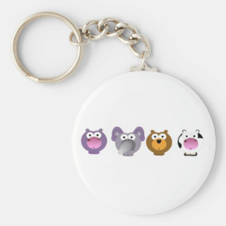 cute Irregular Critters Keychain