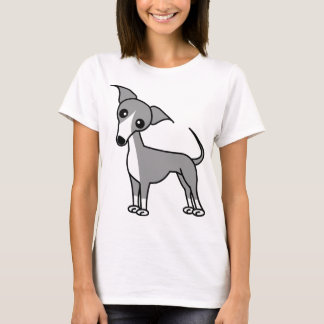Cute Italian Greyhound - Grey T-Shirt