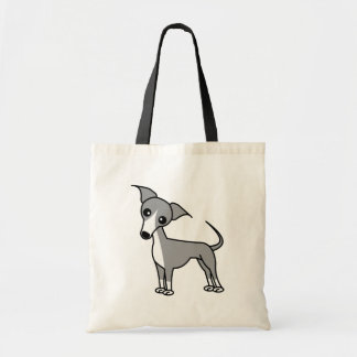 Cute Italian Greyhound - Grey Tote Bag