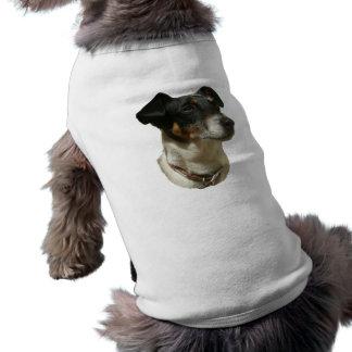 Cute Jack Russell Dog Sleeveless Dog Shirt