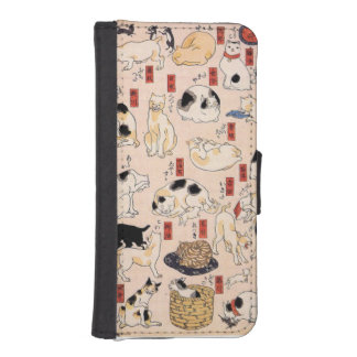 Cute Japanese Cat Phone Case iPhone5 iPhone 5 Wallet Case