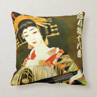 cute japanese girl cushion