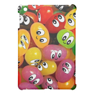 Cute Jelly Bean Smileys iPad Mini Cases