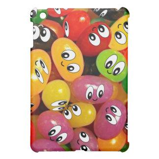 Cute Jelly Bean Smileys iPad Mini Cases