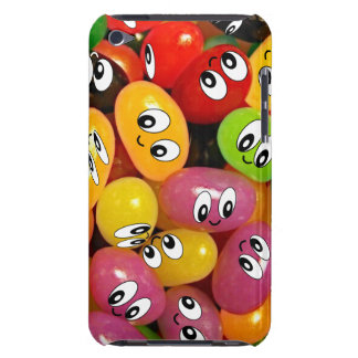 Cute Jelly Bean Smileys iPod Case-Mate Cases