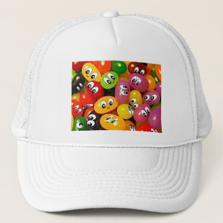 Cute Jelly Bean Smileys Trucker Hat