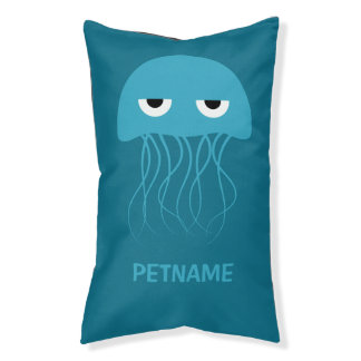 Cute Jellyfish custom dog beds