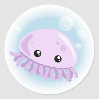 Cute Jellyfish Sticker