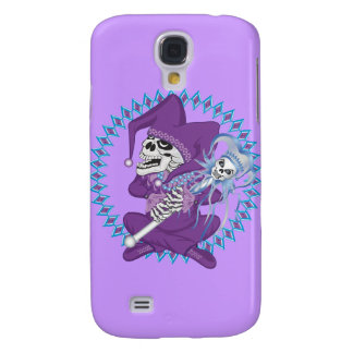 Cute Jester Skull Galaxy S4 Case