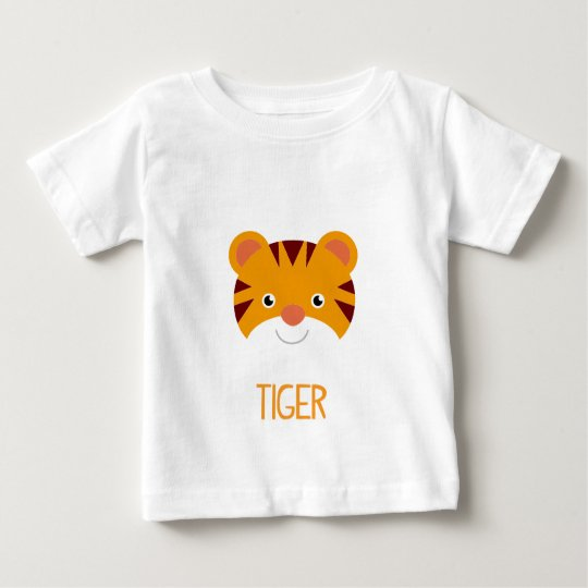 CUTE JUNGLE ANIMALS - TIGER BABY T-Shirt
