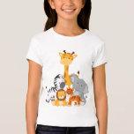 Cute Jungle Baby Animal T-Shirt