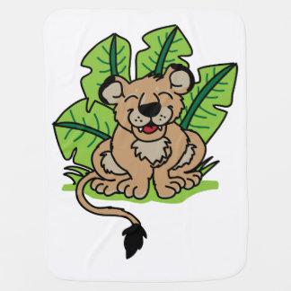 Cute Jungle Lion Cub Blanket Buggy Blanket