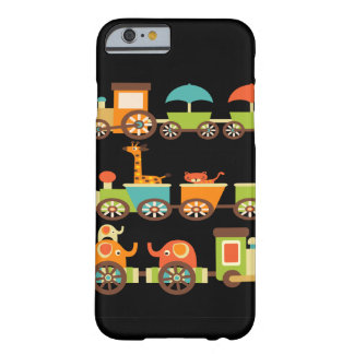 Cute Jungle Safari Animals Train Gifts Kids Baby Barely There iPhone 6 Case