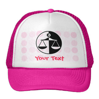 Cute Justice Scales Mesh Hats