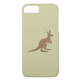 Cute Kangaroo and Joey iPhone 7 Case