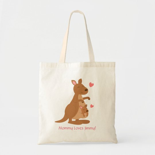 Cute Kangaroo Baby Joey For Kids Tote Bag