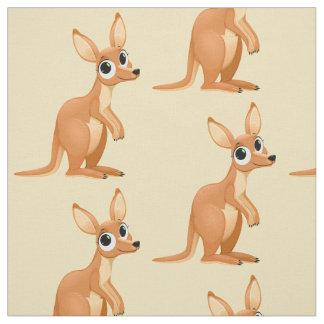 Cute Kangaroo fabric