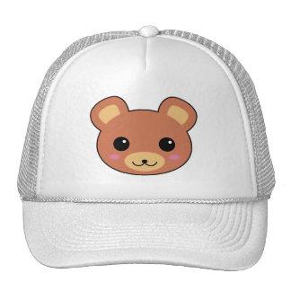 Cute Kawaii Bear Cartoon Mesh Hat