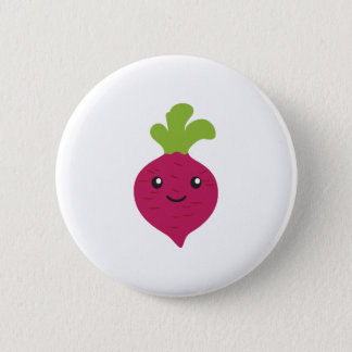 Cute Kawaii Beet 6 Cm Round Badge