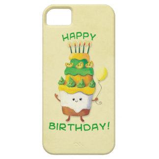Cute Kawaii Birthday Cake iPhone 5 Cover