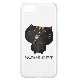 Cute Kawaii Black Sushi Cat iPhone 5C Case