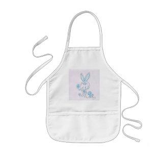 Cute kawaii bunny kid aprons