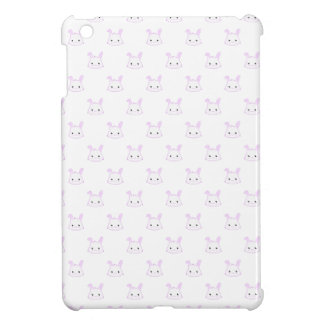 "Cute Kawaii Bunny Rabbit Face ""Polka Dot"" Pattern Case For The iPad Mini"