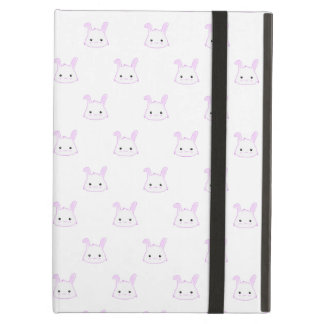 "Cute Kawaii Bunny Rabbit Face ""Polka Dot"" Pattern iPad Air Case"