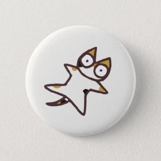 Cute Kawaii Calico Cat {Lots of Cats} 6 Cm Round Badge
