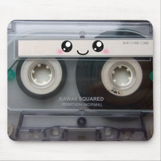 Cute Kawaii Cassette Tape Mouse Pad