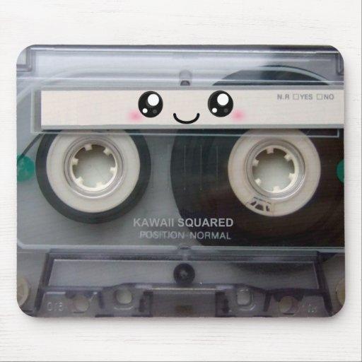 Cute Kawaii Cassette Tape Mousepads