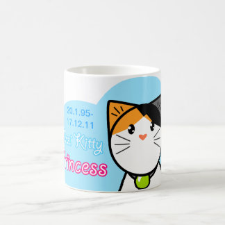 Cute Kawaii Cat Mug Ozzi Kitty Princess