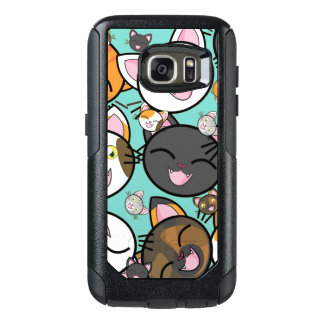 Cute Kawaii Cats Samsung S7 Otterbox Case