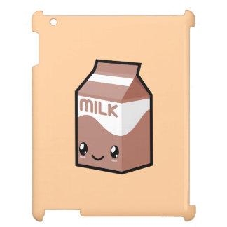 Cute Kawaii Chocolate Milk Carton iPad Case
