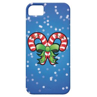 Cute Kawaii Christmas Candy Cane iPhone 5 5s Case