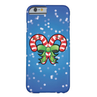Cute Kawaii Christmas Candy Cane iPhone 6 Case Barely There iPhone 6 Case