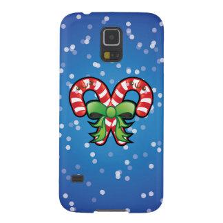 Cute Kawaii Christmas Candy Cane Samsung S5 Case