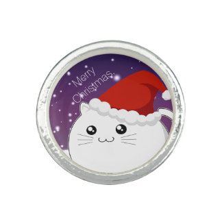 Cute Kawaii Christmas kitty cat