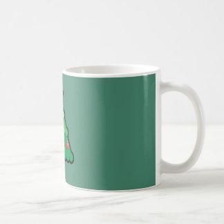 Cute Kawaii Christmas Tree Coffee Mug