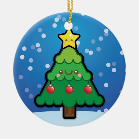 Cute Kawaii Christmas Tree Decoration