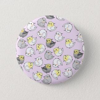 Cute Kawaii Cockatiel Badge - Birb Power!