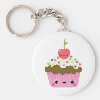 Cute Kawaii Cupcake Key Ring