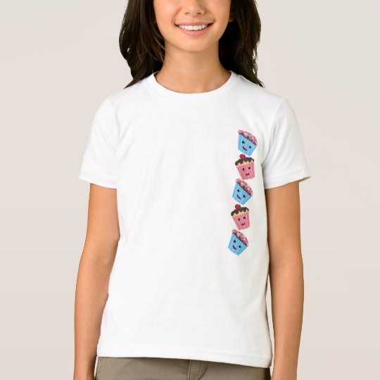 Cute Kawaii Cupcakes T-Shirt