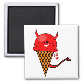 cute kawaii devil ice cream cone refrigerator magnets