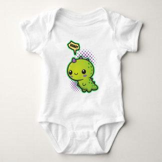 Cute Kawaii Dinosaur Baby Bodysuit