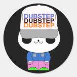 Cute kawaii dubstep panda sticker